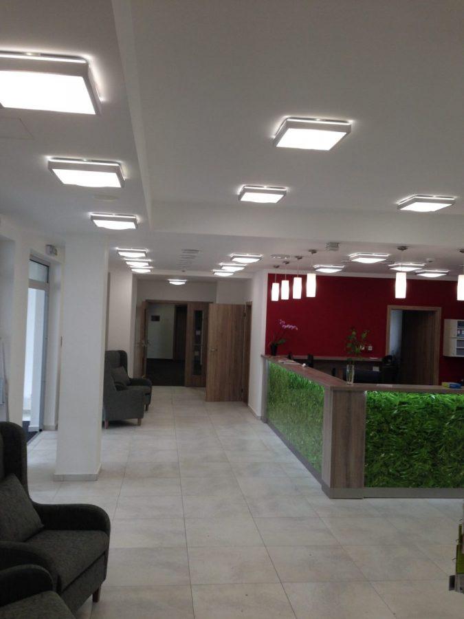 Instalace osvětlení - Hotel Kraskov